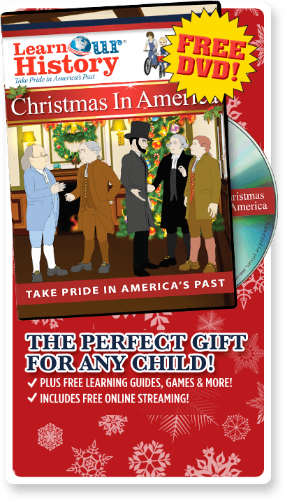 FREE Christmas in America DVD.